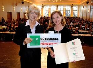 "Verleihung ""Gütesiegel individuelle Förderung"""